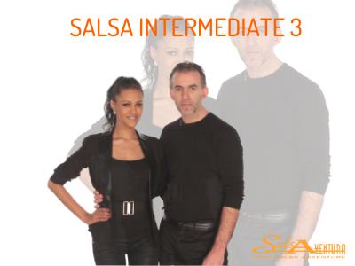 Salsa Intermediate 3 - * New *